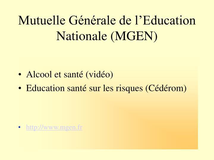 Mutuelle Générale de l'Education Nationale (MGEN)