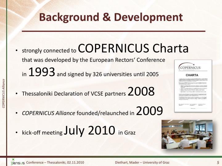 Background & Development