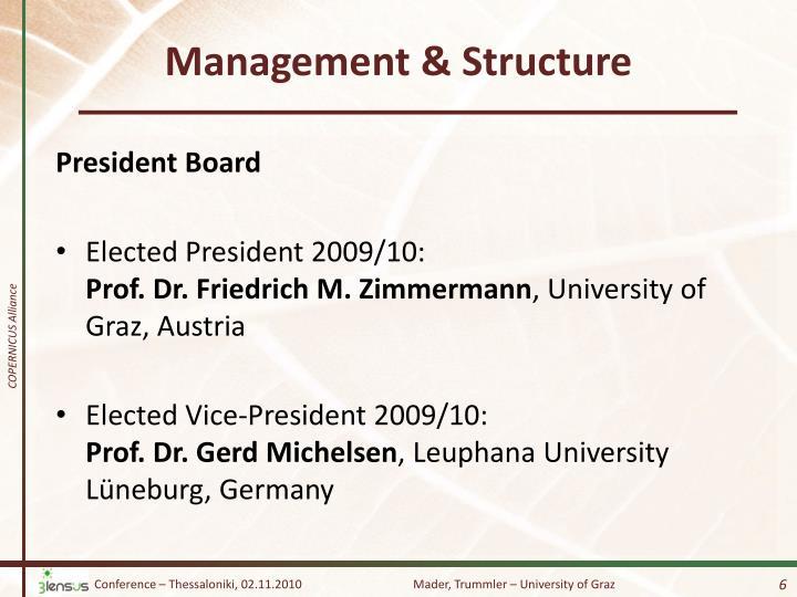 Management &