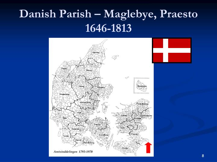 Danish Parish – Maglebye, Praesto