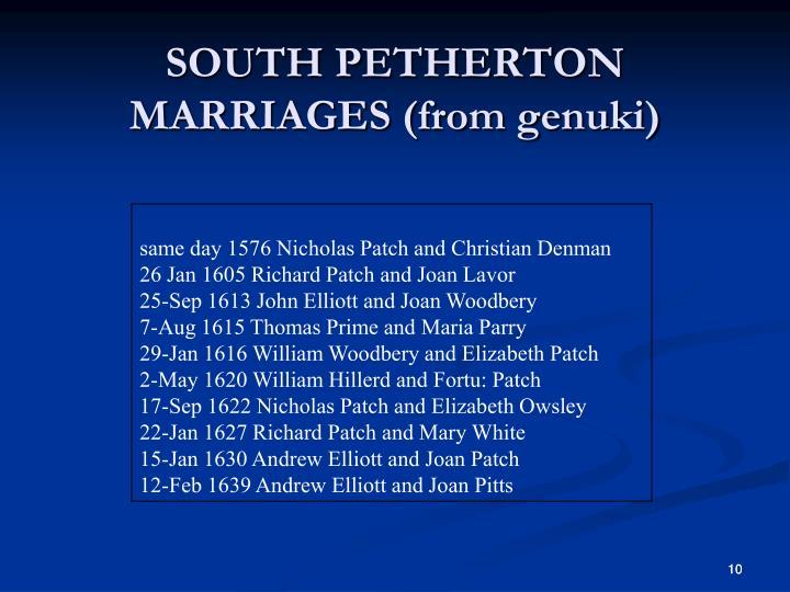 SOUTH PETHERTON