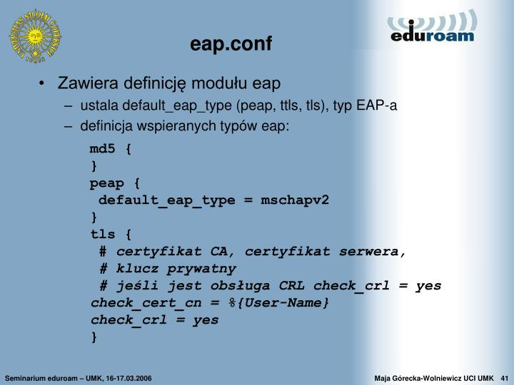 eap.conf