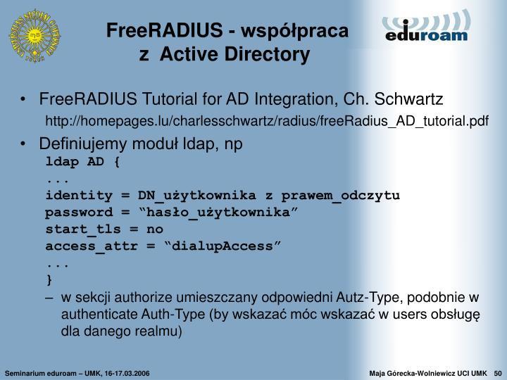 FreeRADIUS - współpraca
