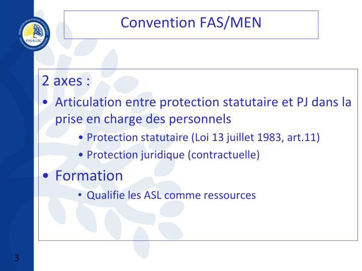 Convention FAS/MEN