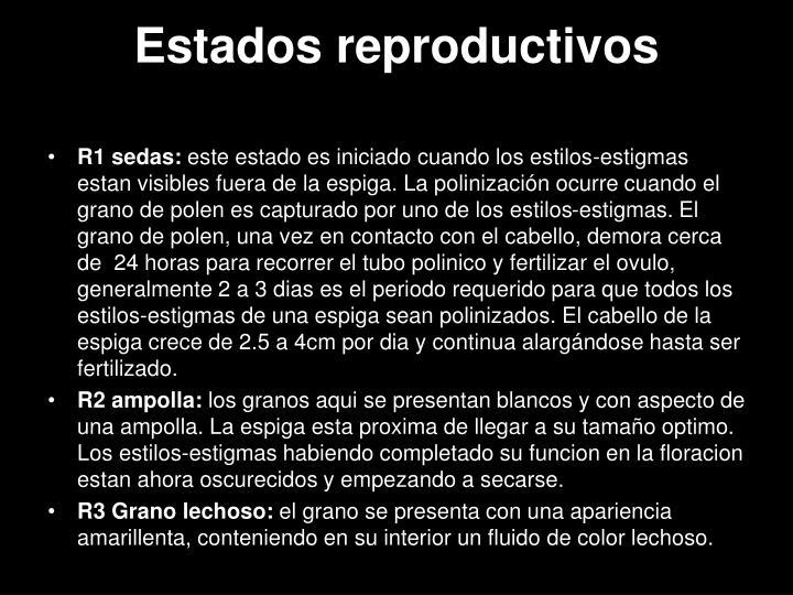Estados reproductivos