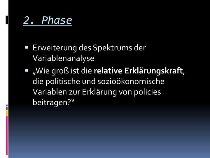 2. Phase
