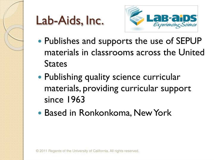 Lab-Aids, Inc.