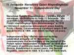 11 listopada narodowy dzie niepodleg o ci november 11 independence day