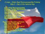 2 maja dzie flagi rzeczypospolitej polskiej may 2 day of the national flag