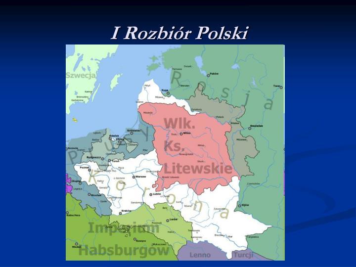 I Rozbiór Polski