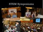 stem symposiums