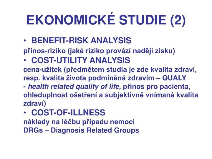 EKONOMICKÉ STUDIE (2)