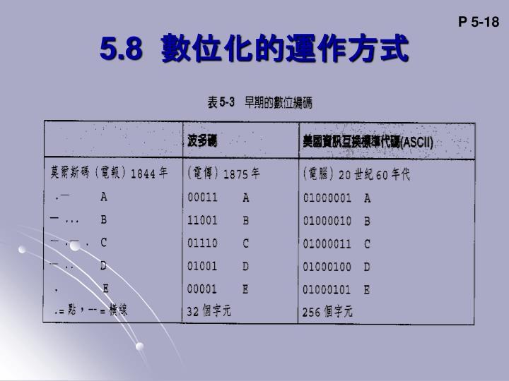 P 5-18