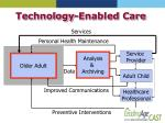 technology enabled care