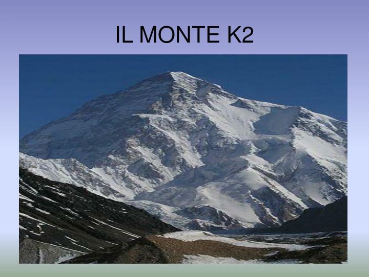 IL MONTE K2