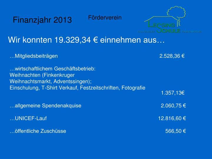 …Mitgliedsbeiträgen 2.528,36 €