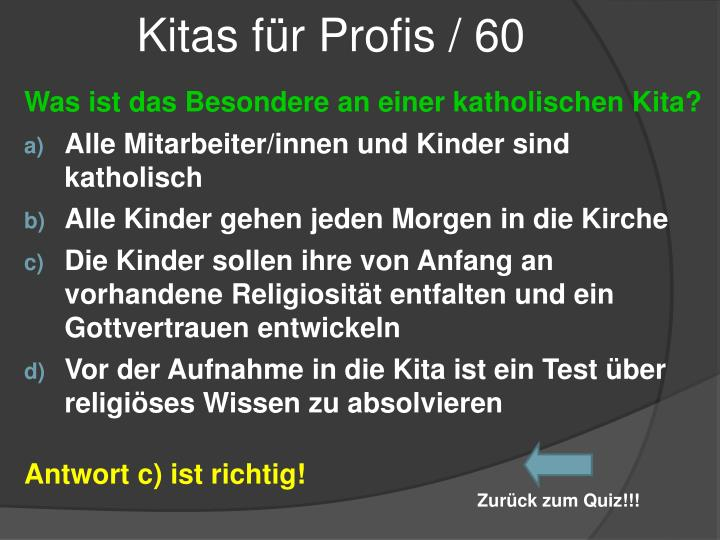 Kitas für Profis / 60