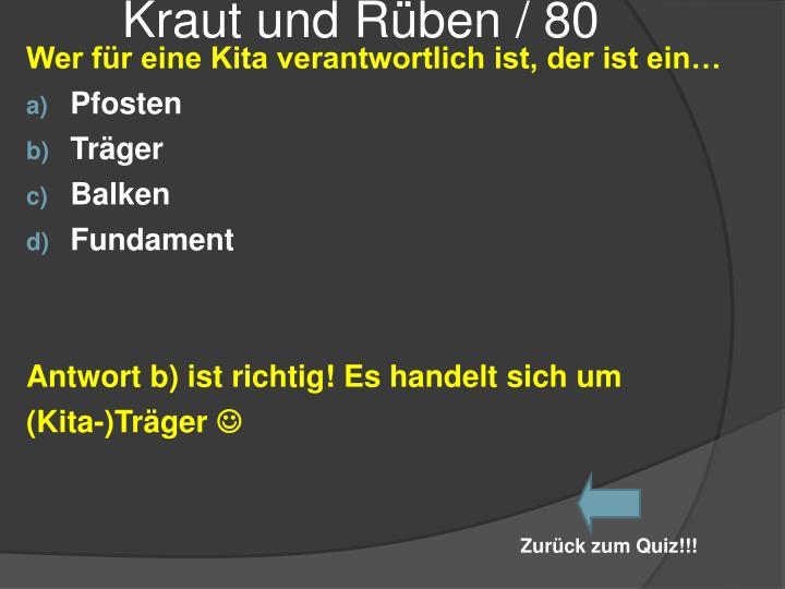 Kraut und Rüben / 80