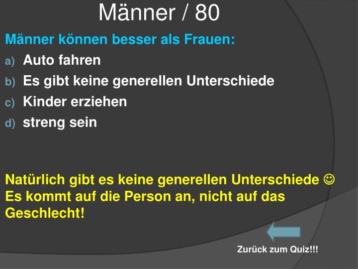Männer / 80