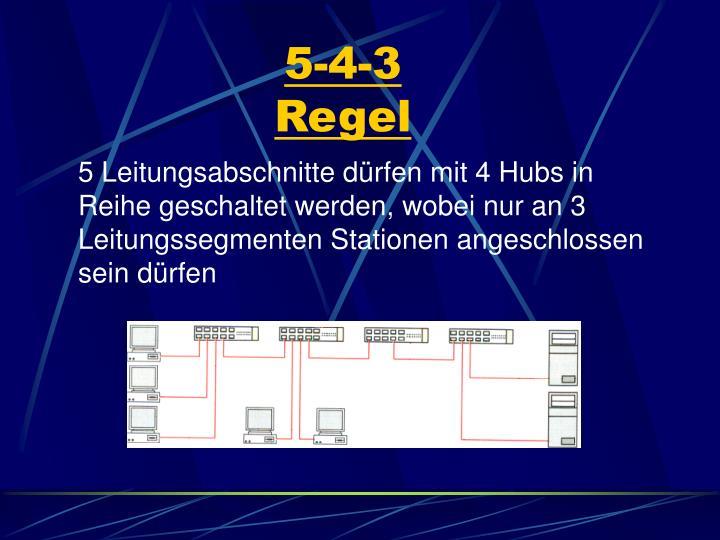 5-4-3 Regel