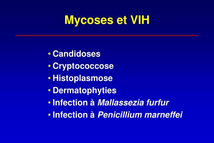 Mycoses et VIH