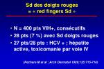 sd des doigts rouges red fingers sd