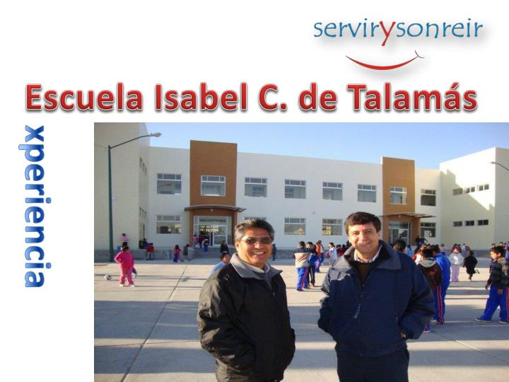 Escuela Isabel C. de Talamás