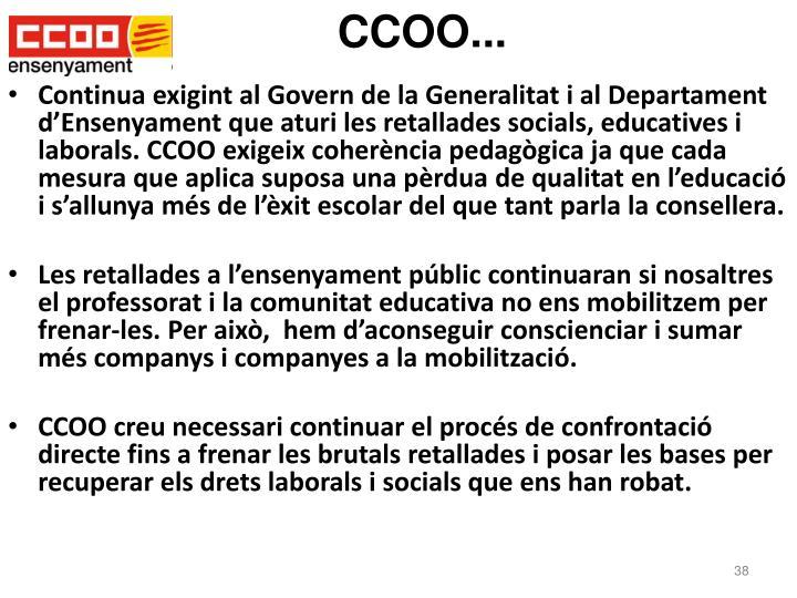 CCOO...