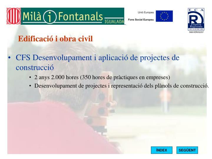 Edificació i obra civil