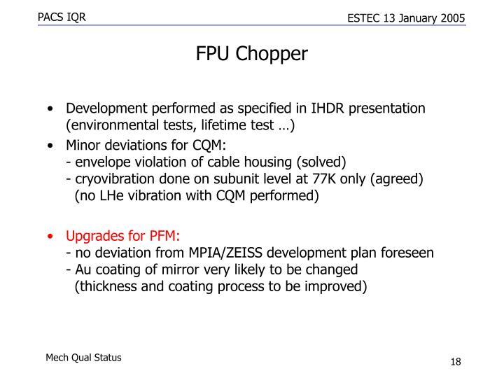 FPU Chopper