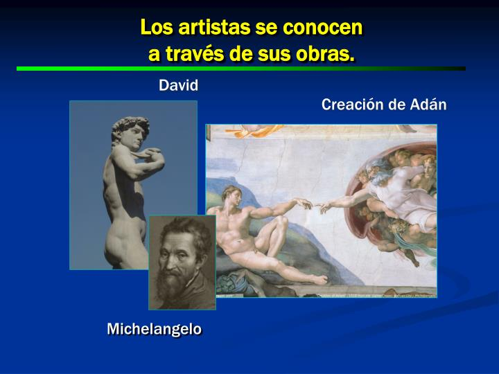 Los artistas se conocen