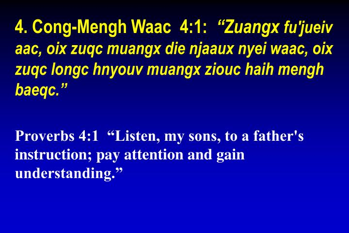 4. Cong-Mengh Waac  4:1: