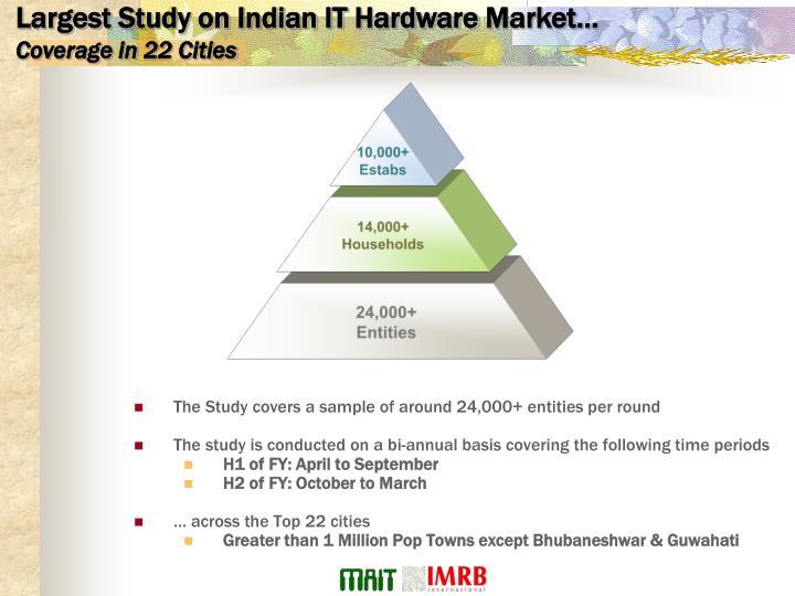 Largest Study on Indian IT Hardware Market…
