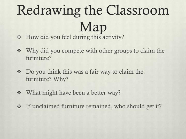 Redrawing the classroom map