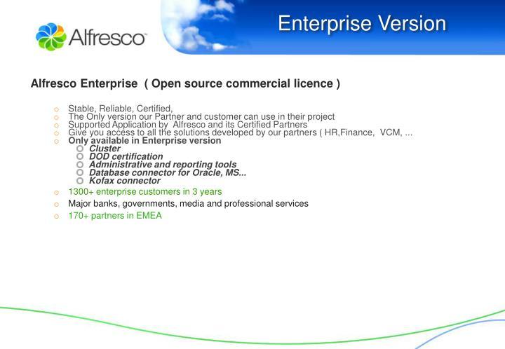 Enterprise Version