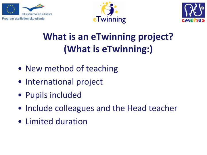 What is an eTwinning project?