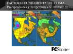 factores fundamentales clima precipitaciones y temperaturas de 30 d as