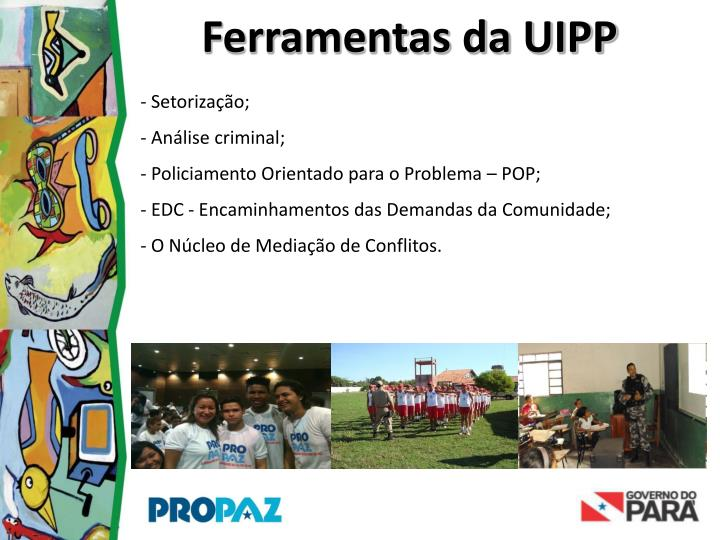 Ferramentas da UIPP
