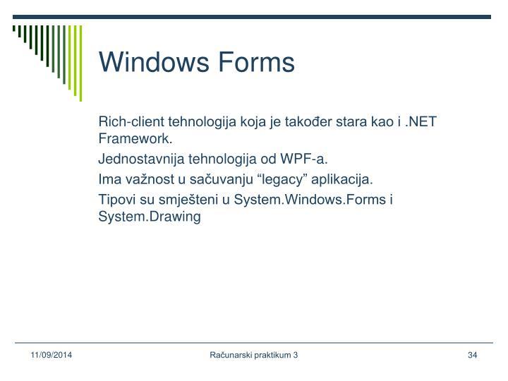 Windows Forms