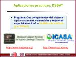 aplicaciones practicas dssat
