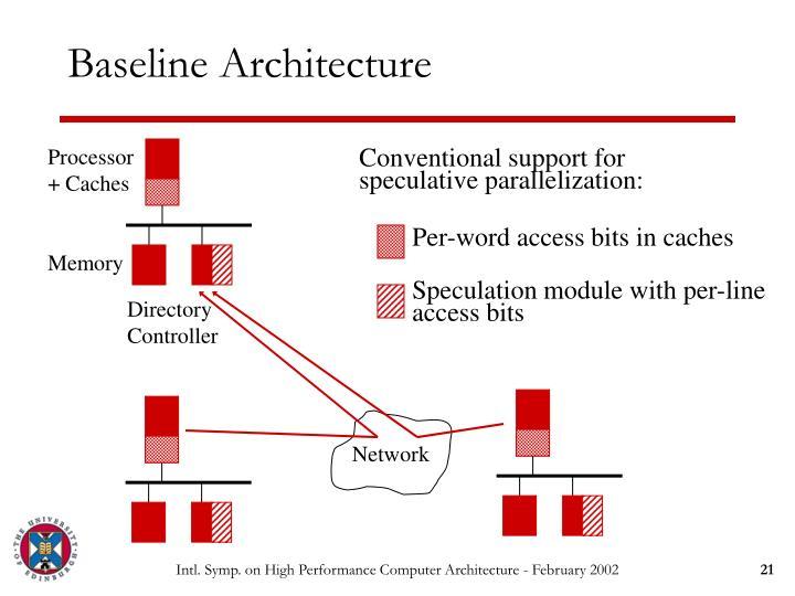 Baseline Architecture