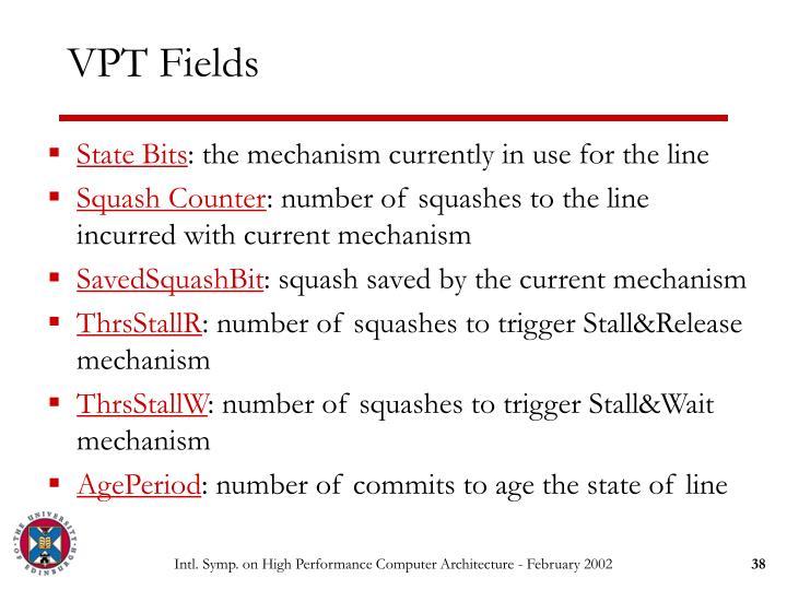 VPT Fields