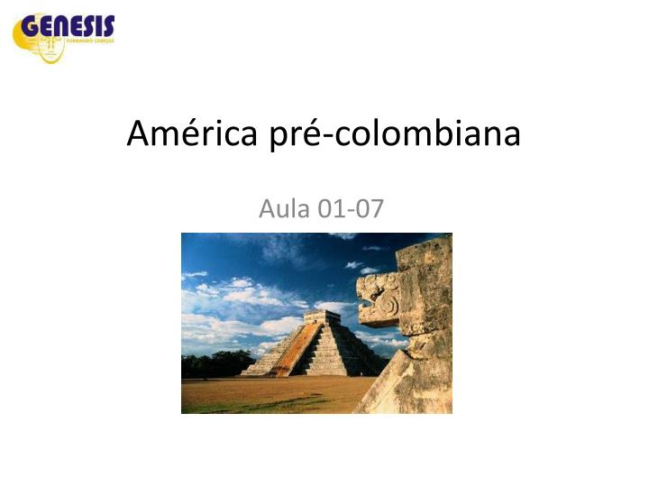 Am rica pr colombiana