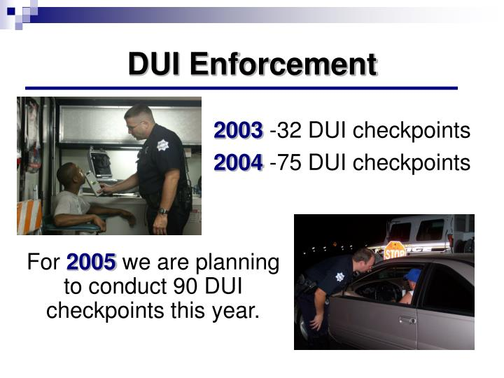 DUI Enforcement
