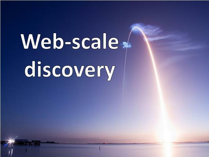 Web-scale