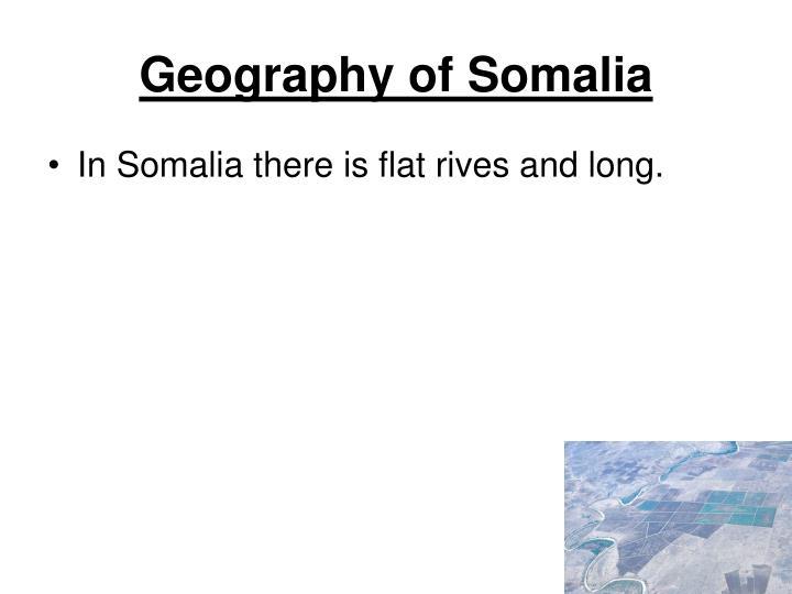 Geography of Somalia