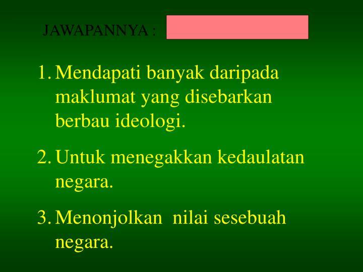 JAWAPANNYA :