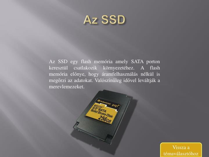 Az SSD