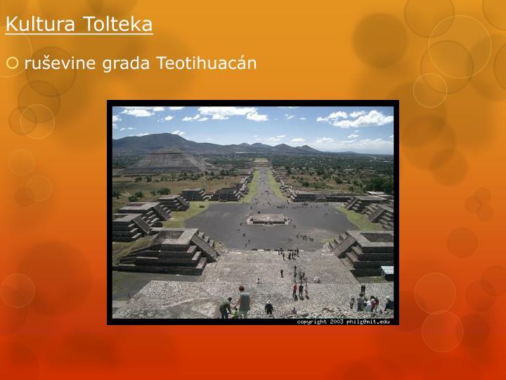 ruševine grada Teotihuac