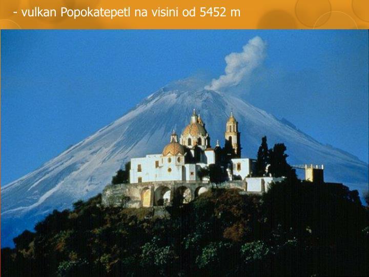 - vulkan Popo